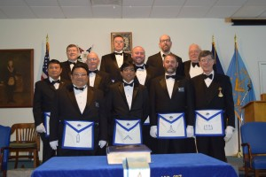 Springfield Lodge 217: 2016 Officers
